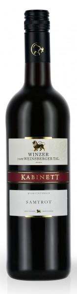 Winzer vom Weinsberger Tal Samtrot Kabinett 0.75 l