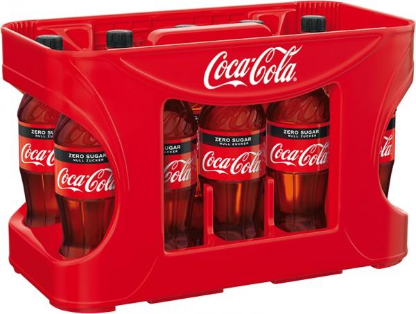 Coca Cola Zero Einweg 12x0,5 l