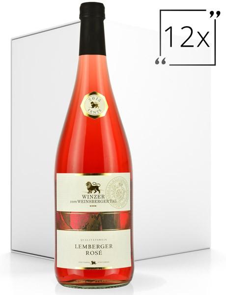 Winzer vom Weinsberger Tal Lemberger Rosé 12x1.0 l