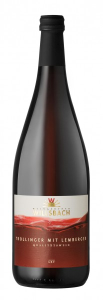 Weinhaus Willsbach Trollinger mit Lemberger Qba 1.0 l