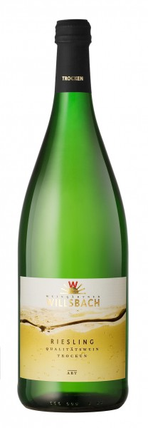Weinhaus Willsbach Riesling trocken 1.0 l