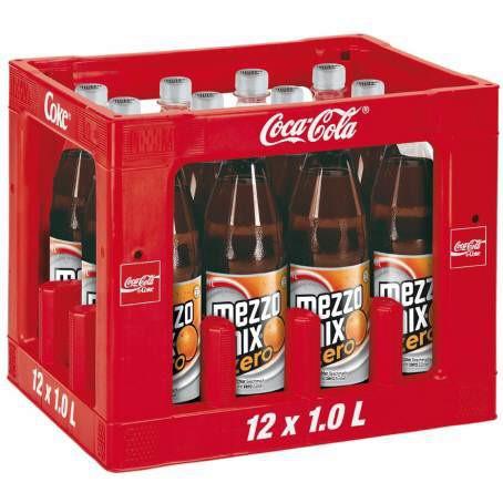 Mezzo Mix Original Zero Taste 12x1,0 l