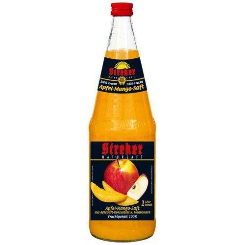 Streker Apfel-Mango Direktsaft 6x1,0 l