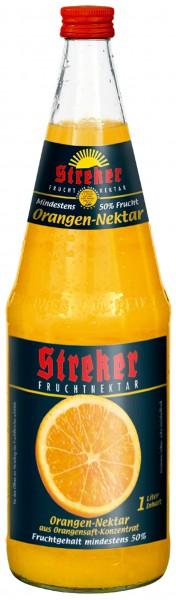 Streker Orangensaft Nektar 6x1,0 l