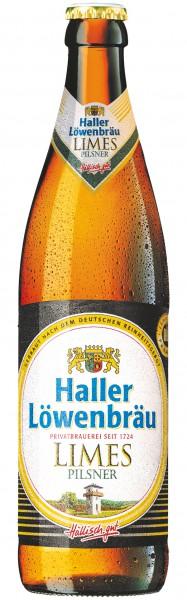 Haller Löwenbräu Limes Pilsener 20x0.5 l
