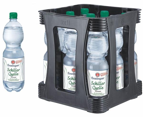 Schillerquelle Heilwasser 9x1,0 l
