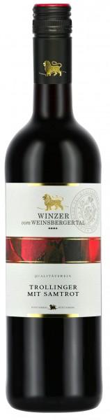 Winzer vom Weinsberger Tal Trollinger mit Samtrot 0.75 l