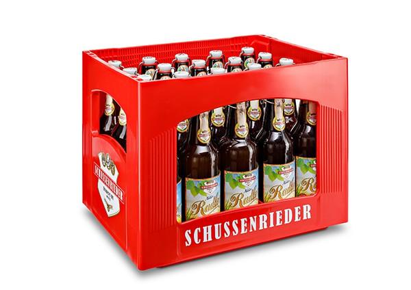Schussenrieder Natur Radler Bügel 24x0,33 l