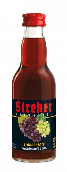 Streker Roter Trauben-Direktsaft 12x0,2 l