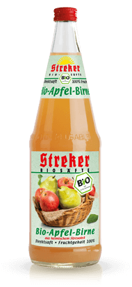 Streker BiO Apfel-Birne Direktsaft 6x1,0 l