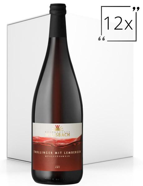 Weinhaus Willsbach Trollinger mit Lemberger Qba 12x1.0 l