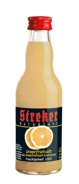 Streker Grapefruitsaft aus Konzentrat 12x0.2 l