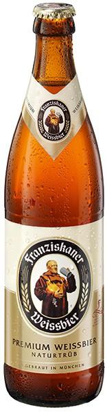 Franziskaner Weissbier Naturtrüb 20x0.5 l