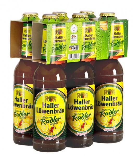Haller Löwenbräu Natur Radler trübes 6x0.33 l