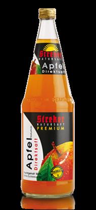 Streker Apfel-Direktsaft naturtrüb 6x1,0 l