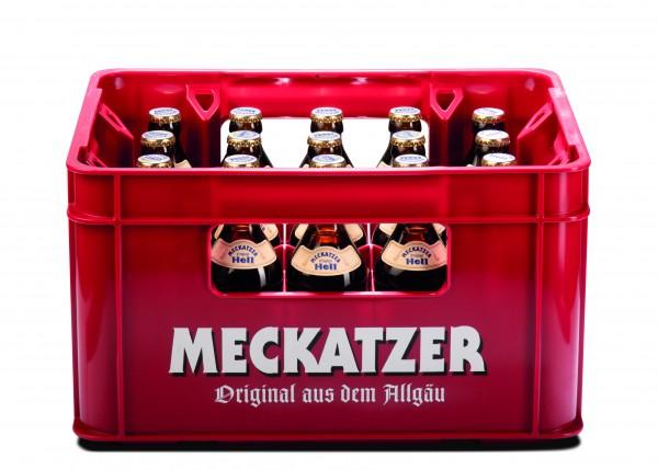 Meckatzer Original Hell 20x0,5 l