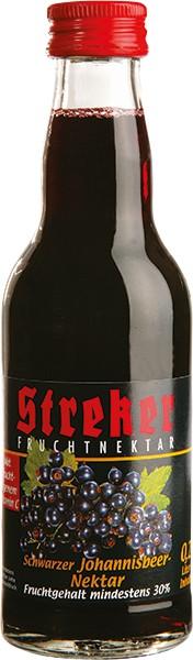 Streker schwarzer Johannisbeer-Nektar 12x0,2 l