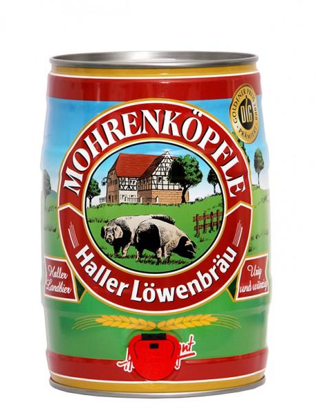 Haller Löwenbräu Mohrenköpfle Fass 1.5 l