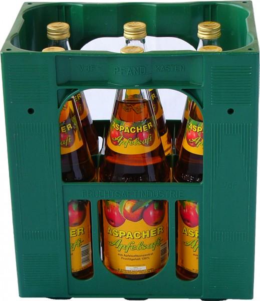 Aspacher Apfelsaft klar 6x1,0 l