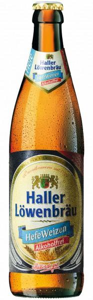 Haller Löwenbräu Hefe Weizen Alkoholfrei 20x0.5 l