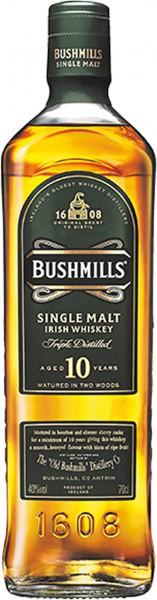 Bushmills Single Malt 10J. Whisky 0,7 l