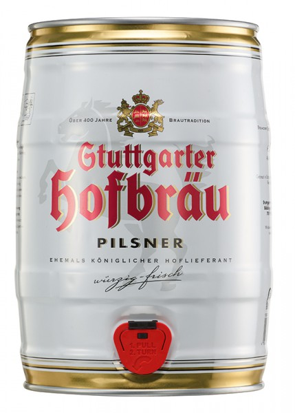 Stuttgarter Hofbräu Classic 5 .ltr. Fass