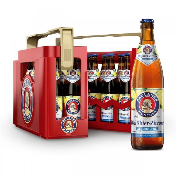 Paulaner Weißbier-Zitrone Alkoholfrei 0,0% 20x0,5 l