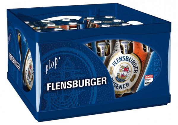 Flensburger Pilsener Herbwürzig & Frisch 16x0.5 l