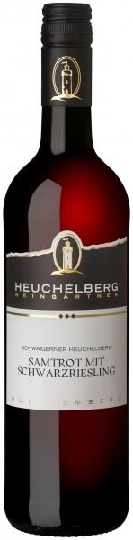 Schwaigerner Heuchelberg Samtrot mit Schwarzriesling 0.75 l