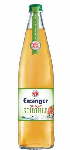 Ensinger Direktsaft Apfel-Schorle 12x0,75l Glas
