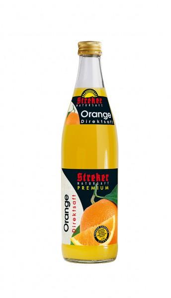 Streker Orange Direktsaft 10x0,5 l