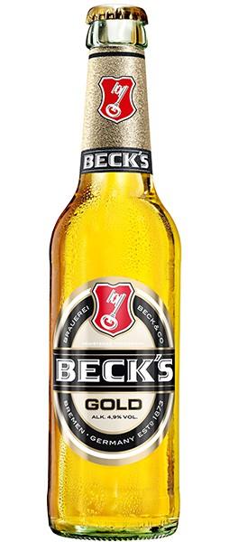 Becks Gold 6x0,33 l