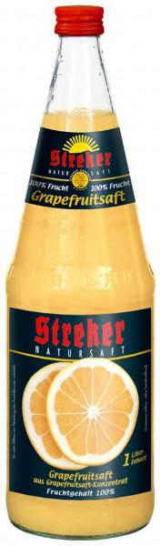 Streker Grapefruitsaft 6x1,0 l