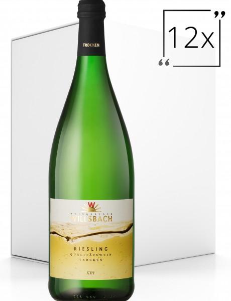 Weinhaus Willsbach Riesling trocken 12x1.0 l