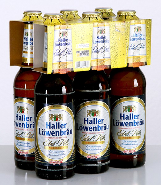 Haller Löwenbräu Edel Pils Premium 6x0.33 l