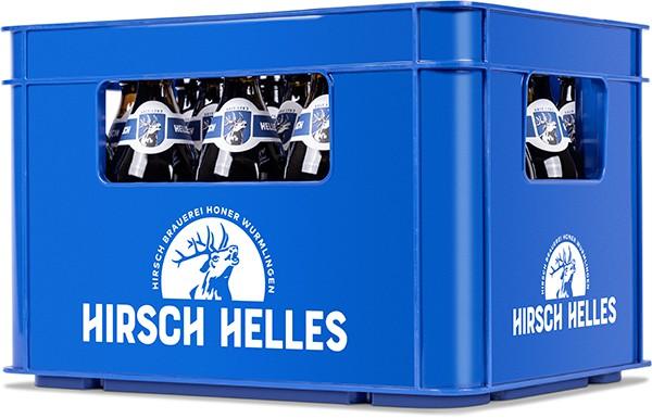 Hirsch Helles Mild & Süffig 20x0.5l