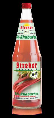 Streker BIO Rhabarber Nektar 6x1,0 l