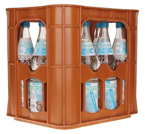 Wörsinger Mineralwasser classic 12x0,7 l