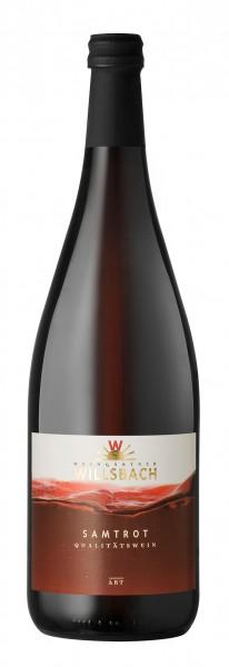 Weinhaus Willsbach Samtrot Qba. 1.0 l