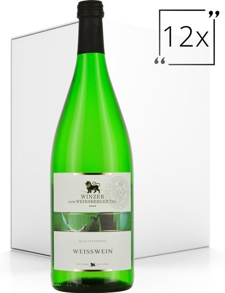 Winzer vom Weinsberger Tal Qualitätswein Weisswein 12x1.0 l