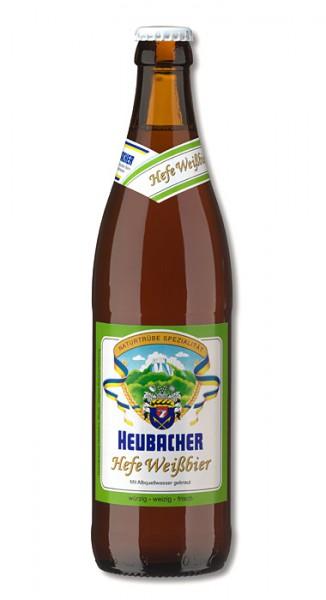Hirschbrauerei Heubach Hefe Weißbier 20x0,5 l