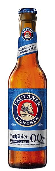 Paulaner Hefe Weißbier alkoholfrei 0,0% 6x0,33 l