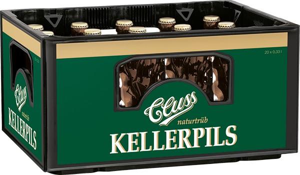 Cluss Kellerpils naturtrüb 20x0.33 l