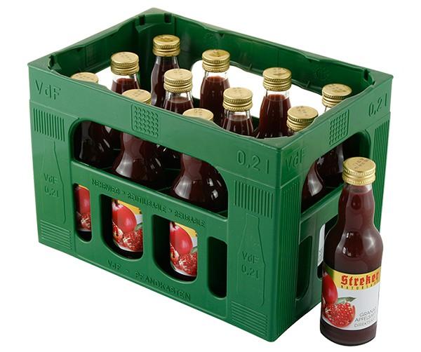Streker Granatapfel Direktsaft 12x0.2 l