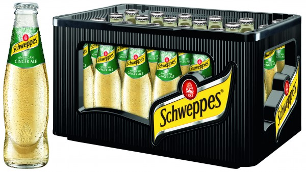 Schweppes American Ginger Ale 24x0,2 l
