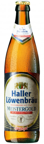 Haller Löwenbräu Meistergold Alkoholfrei 20x0.5 l
