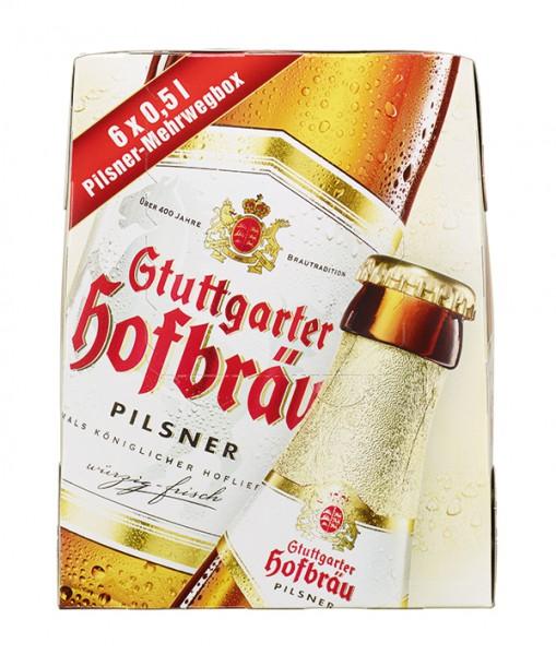 Stuttgarter Hofbräu Bügel Premium Original 6x0.5 l