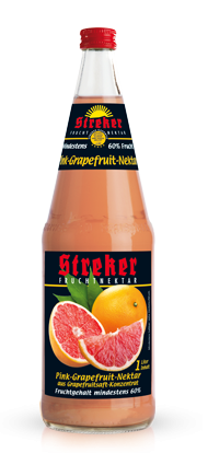 Streker Pink-Grapefruit Nektar 6x1,0 l
