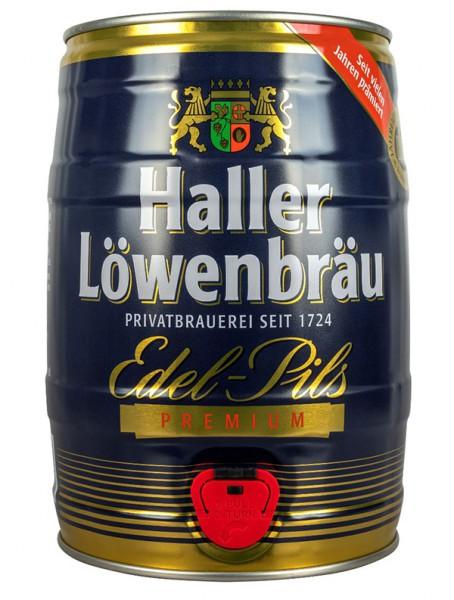 Haller Löwenbräu Edel Pils Fass 1.5 l