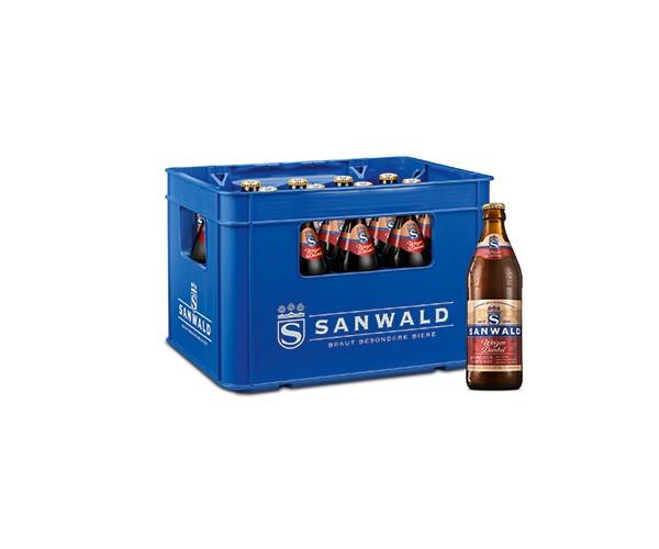 Sanwald Weizen Dunkel 20x0,5 l